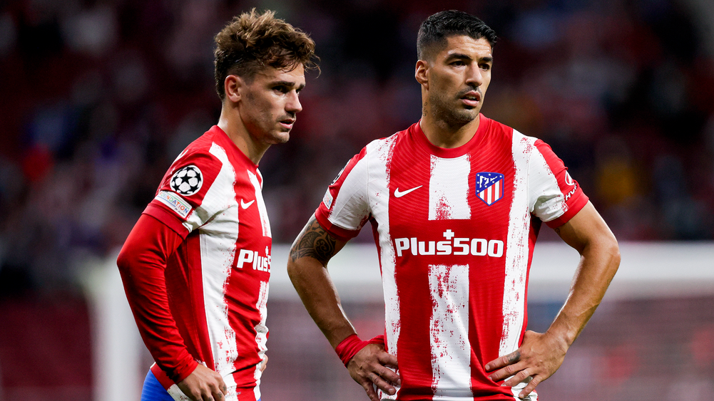 Simeone defends star strikers Suarez and Griezmann after slow start