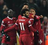 Salah and Mane Take Liverpool Second