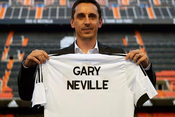 Valencia Appoint Gary Neville as Manager