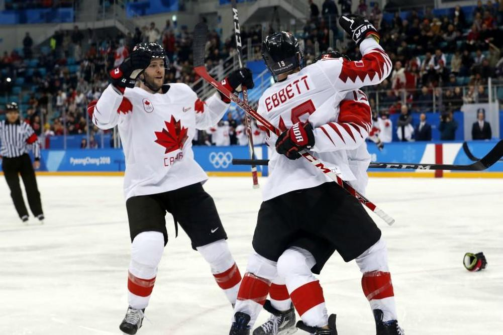 Le Canada soutire le bronze — Hockey masculin
