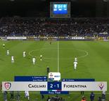 Fiorentina's Europa League push stalled with Cagliari defeat