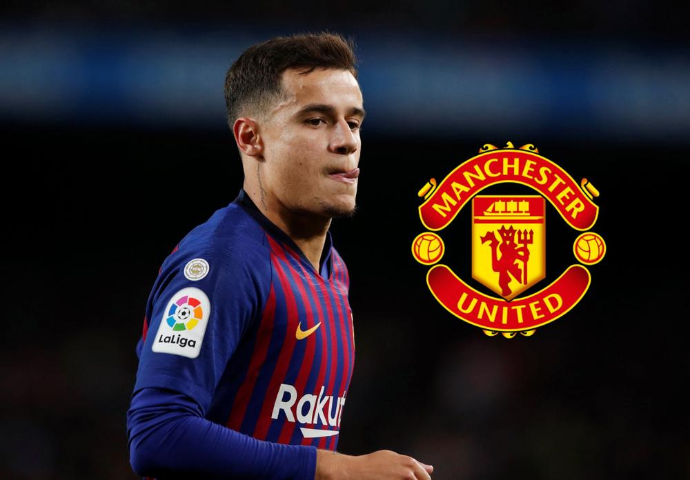 Coutinho Manchester United