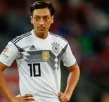 Ozil to miss Saudi Arabia friendly with 'minor' knee injury