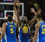 Les Warriors s'imposent à Portland et touchent au but