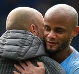 Kompany says Manchester City contract talks can wait