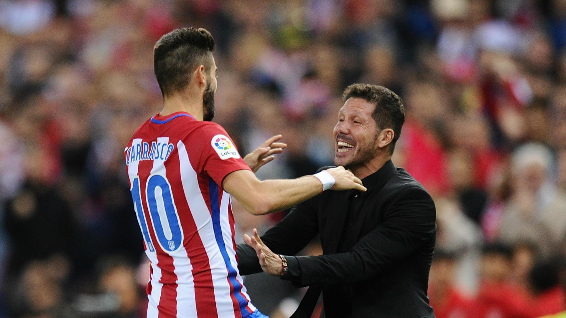Atletico Madrid duo Yannick Carrasco and Nico Gaitan join Dalian Yifang