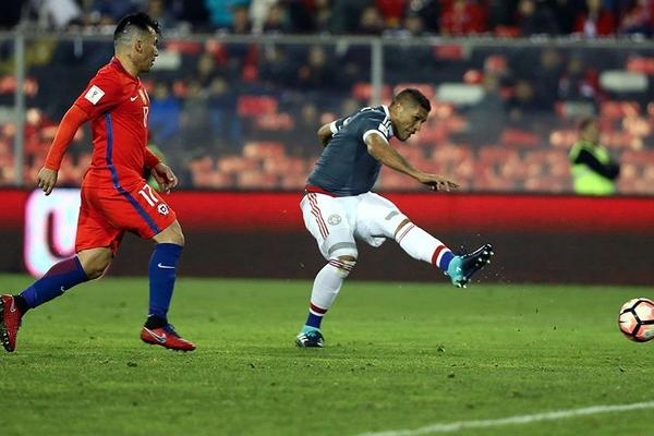 Chile 0-3 Paraguay
