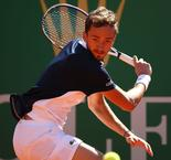 Medvedev matches Federer at Monte Carlo Masters