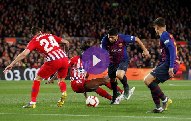 Getafe Real Valladolid Live Score Video Stream And H2h: Barcelona 0-0 Atletico Madrid