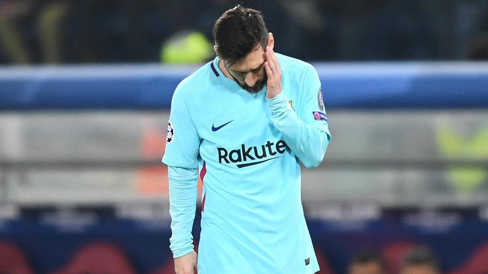 No Rome hangover as Barca break LaLiga record