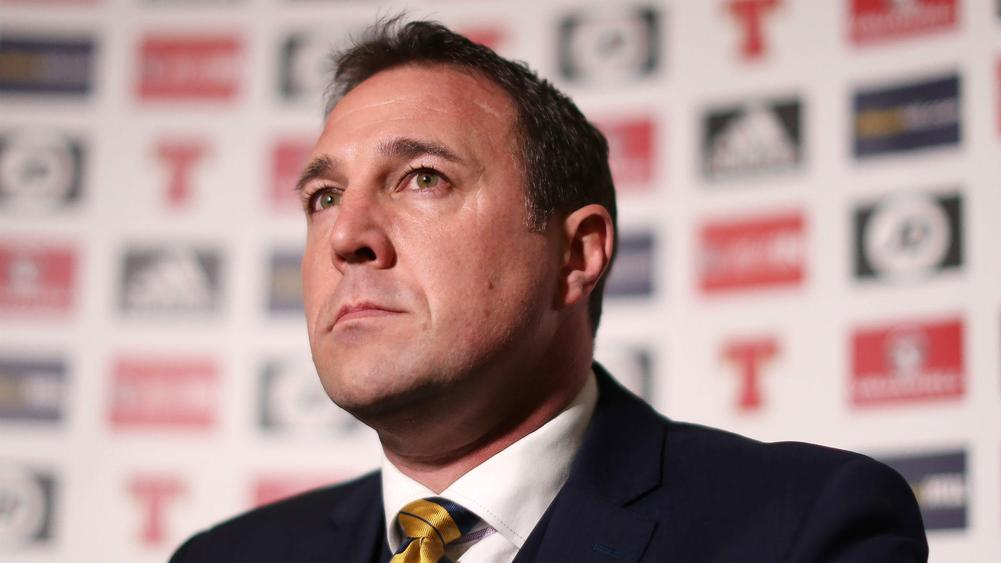 Mackay hired as Scotland interim boss after World Cup woe