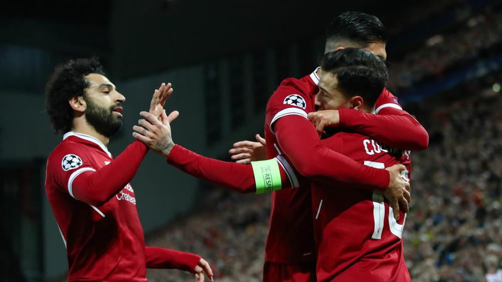 Coutinho hits hat-trick as Liverpool rout Spartak to top group