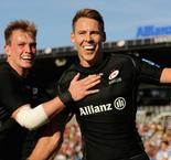 Sarries and Exeter stay unbeaten in Premiership