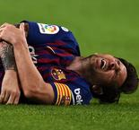 Inter, El Clasico and more - the games Messi will miss with broken arm