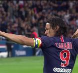 Cavani Doubles PSG Lead Over Dijon