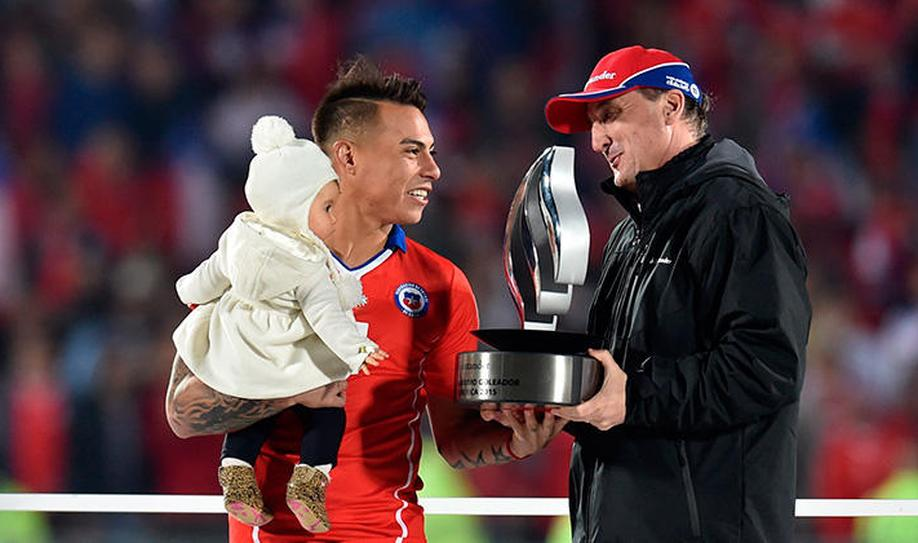 Vargas and Guerrero Ended as Copa America Top Scorers