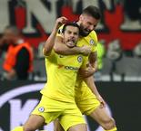 Eintracht Frankfurt 1 Chelsea 1: Pedro on target as Sarri's men impress