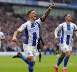 Brighton and Hove Albion 2 Derby County 1: Knockaert strikes as Seagulls reach last eight