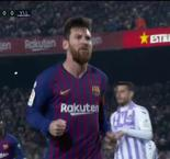 Messi Converts Penalty To Give Barcelona Lead Over Real Valladolid