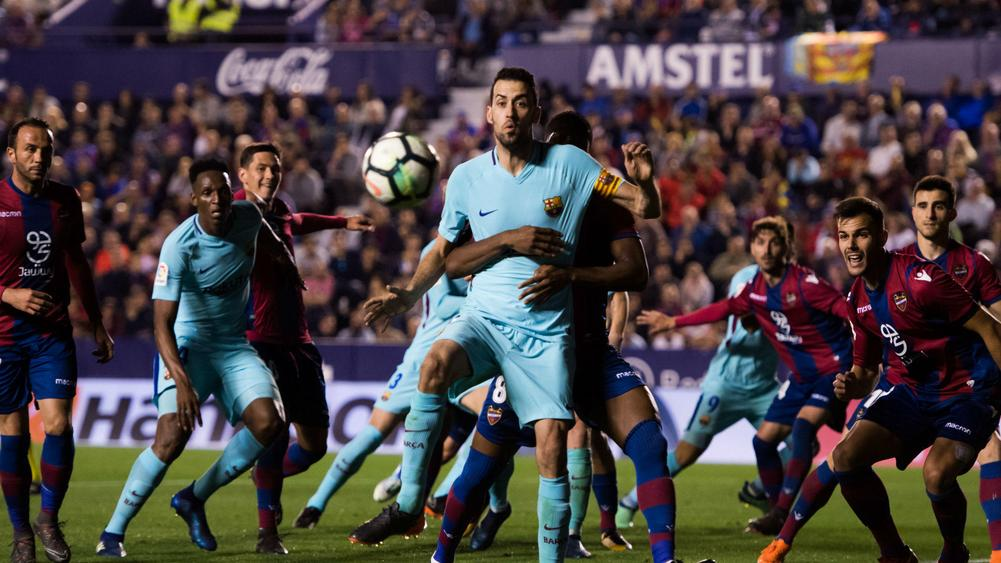 Emmanuel Boateng's first career hat-trick as Levante end Barcelona unbeaten run