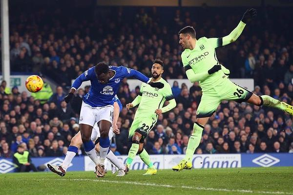 Everton 2-1 Manchester City