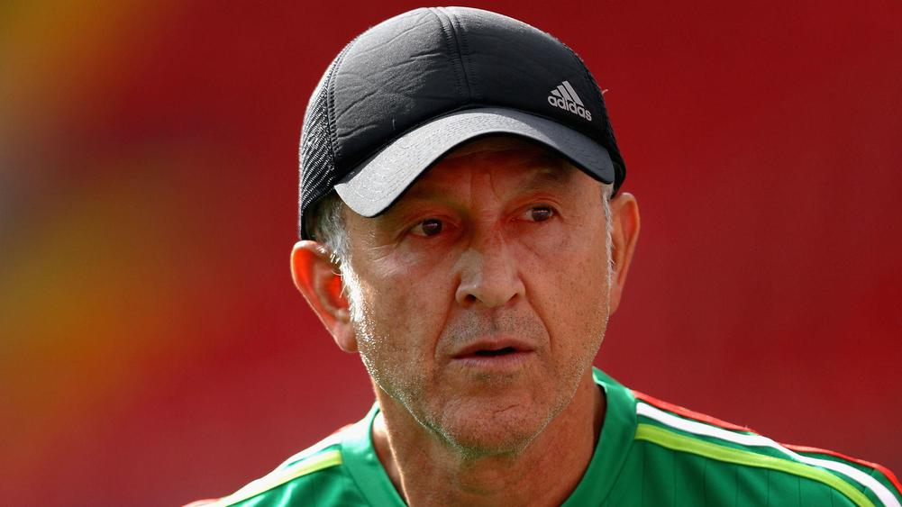 Federation Internationale de Football Association suspends Mexico's coach from Gold Cup
