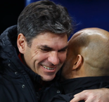Guardiola offers 'big hug' to sacked friend Pellegrino