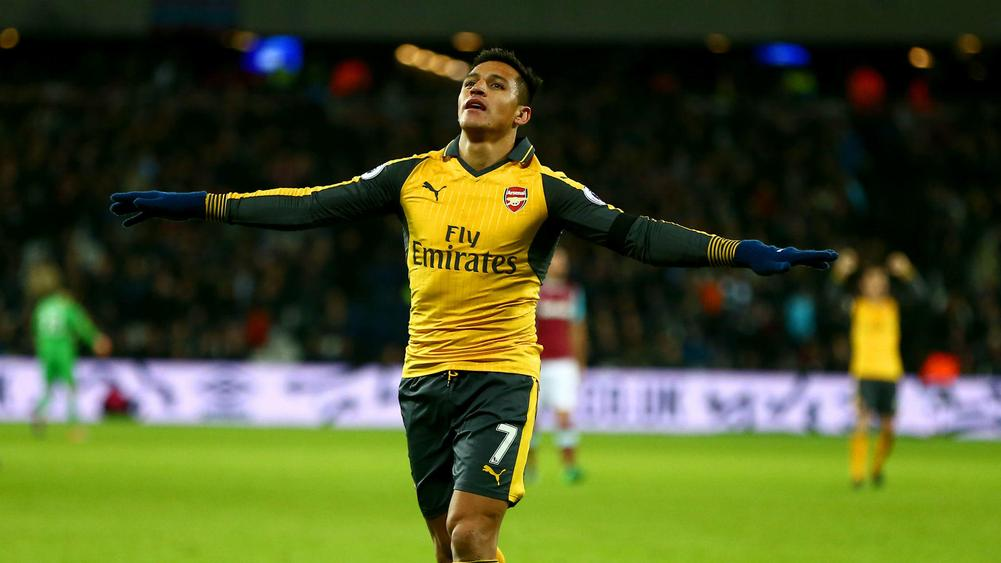 Sanchez steals the show as West Ham crumble