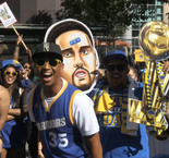 Curry dedicates championship win to Warriors fans