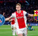 Report: De Ligt Choosing Between PSG And Barcelona