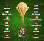 2019 AFCON Draw Results