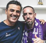 Montella hails 'extraordinary' Ribery after Fiorentina move