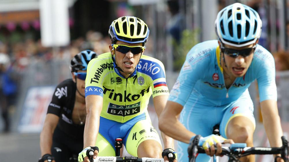 Alberto Contador Takes Overall Lead as Jan Polanc Wins Stage Five ce2b56a35