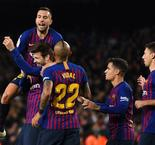 Barcelona goes top with win over Villarreal