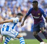 Real Sociedad 1 Barcelona 2: Suarez and Dembele maintain perfect start