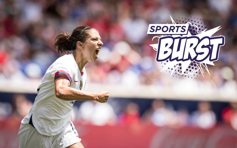 USMNT captain Carli Lloyd celebrates scoring goal in the second half of the International Friendly match the U.S. Women's National Team and Mexico ahead of the Women's World Cup - Sports Burst, June 11, 2019 | beIN SPORTS USA