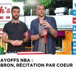 beINSIDE USA - Episode 28 : LeBron James incroyable, même en conf' !