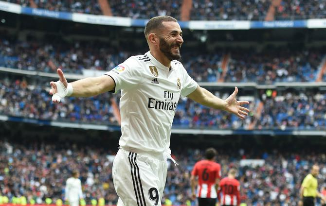 Real Madrid To Seal Getafe S Faith: Real Madrid 3 Athletic Bilbao 0: Hat-trick Hero Benzema