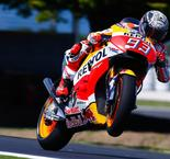 Marquez Sets Early Mark