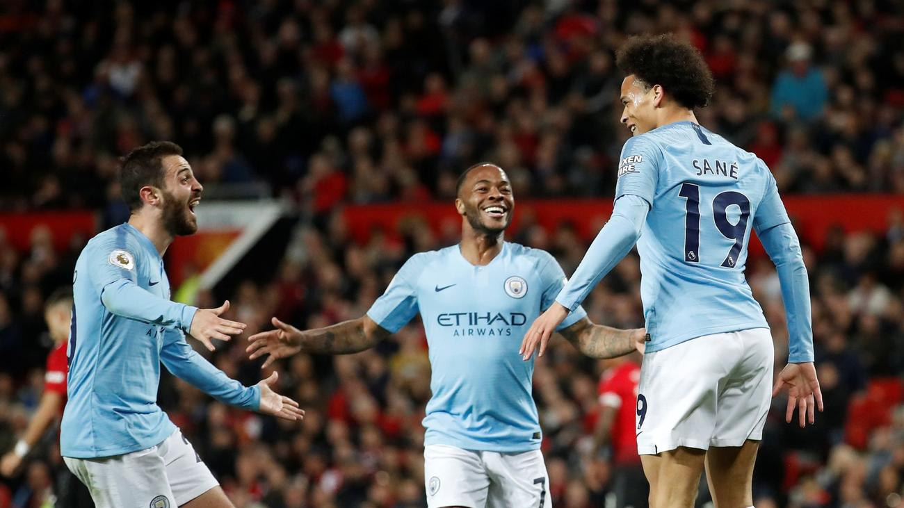 Image result for man united 0-2 man city 2019