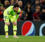 "Messi: ""Hard To Get Up"" After Champions League Defeat"