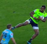 Nabura handed six-week ban for kung-fu kick