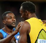 Cold conditions impacted on Bolt - Gatlin