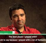 Deco reveals the best he's played with