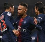 Paris Saint-Germain 9 Guingamp 0: Verratti injured for rampant champions