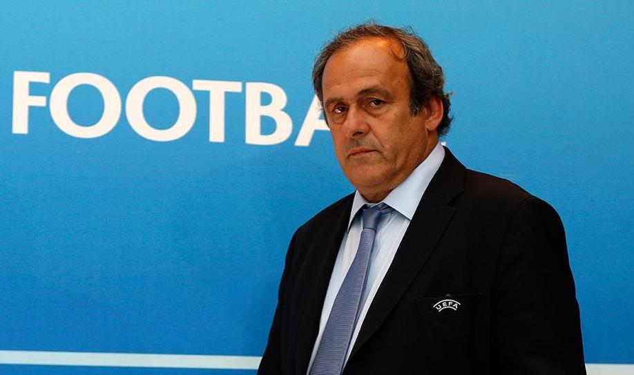 Platini out of FIFA presidency race