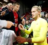 Liverpool Keeper Karius Thanks Anfield For Reception