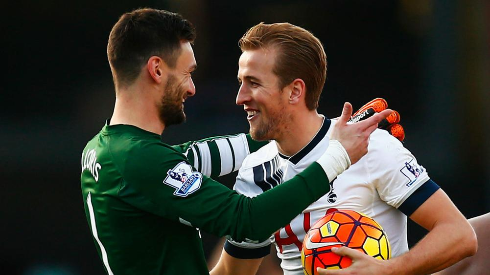 Hugo Lloris Harry Kane - cropped