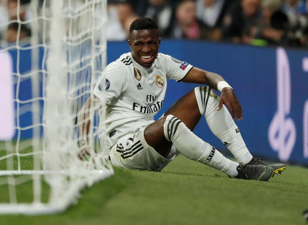 b20b203fe Real Madrid have confirmed medical tests on Brazilian winger Vinicius Junior  have diagnosed the teenager with ligament damage.
