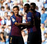 Valverde: 'Great Players' Coutinho And Dembele Both On Equal Footing At Barcelona